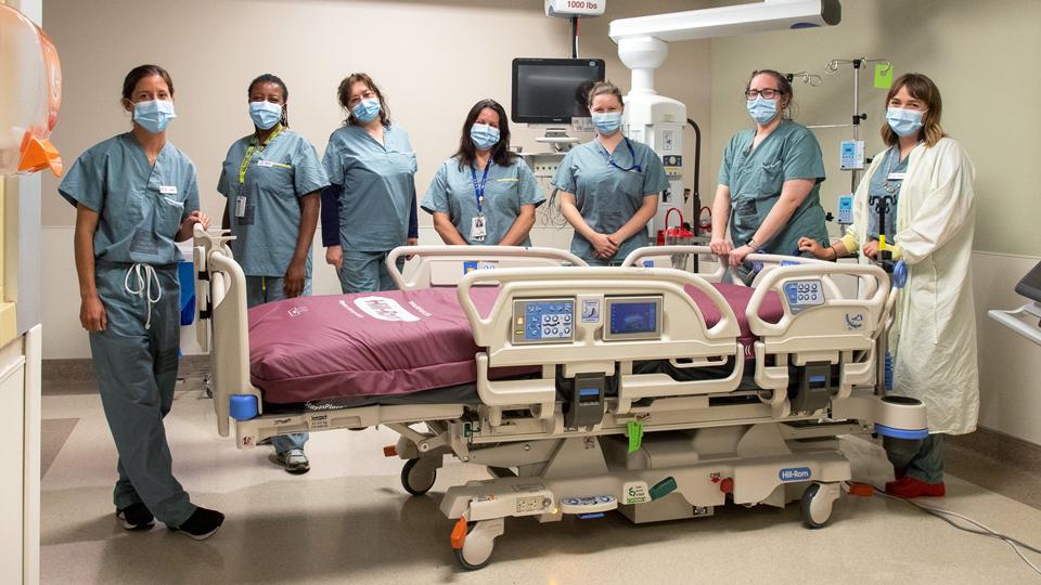 Victoria Hospitals Foundation staff