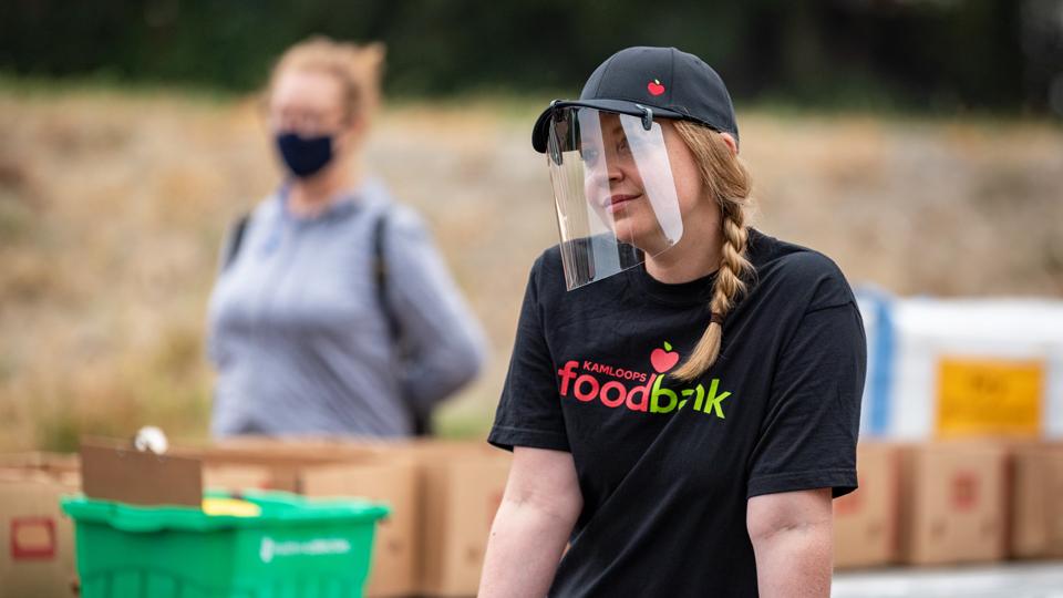 Kamloops Food Bank volunteer