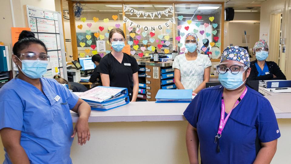 Langley Memorial Hospital Foundation staff
